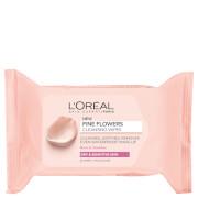 L'Oréal Paris Fine Flowers Sensitive Skin Cleansing Face Wipes x 25 фото