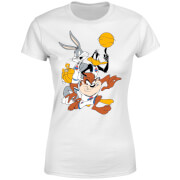 Space Jam Group Shot Women's T-Shirt - White