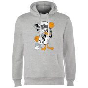 Space Jam Bugs And Daffy Tune Squad Hoodie   Grey   M   Grey