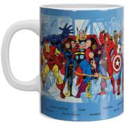 Tasse Personnages et Comics Marvel