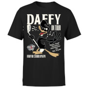 Looney Tunes Daffy Concert Men's T-Shirt - Black