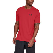 Under Armour Sportstyle Left Chest T-Shirt - Red - L - Red