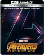 Avengers: Infinity War 4K Ultra HD (Inkl. 2D Version) - Zavvi UK Exklusives Limited Edition Steelbook