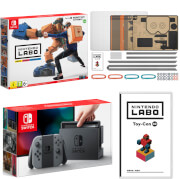 Nintendo Switch Console With Grey Joy-Con & Labo Toy-Con 02: Robot Kit
