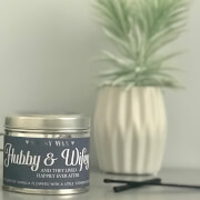 La de da! Living Sassy Wax Hubby and Wifey - And They Lived Happily Ever After Candle 300g