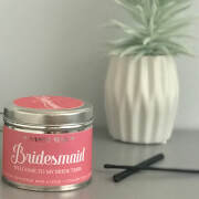 La de da! Living Sassy Wax Bridesmaid - Welcome to my Bride Tribe Candle 300g
