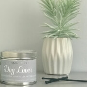 La de da! Living Sassy Wax Dog Lover - Unconditional Love and Unlimited Cuddles Candle 300g
