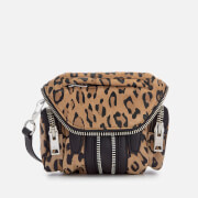 Alexander Wang Women's Micro Marti Leopard Print Suede Shoulder Bag - Leopard
