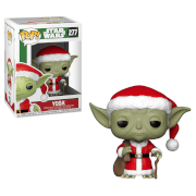 Figura Funko Pop! Yoda Papá Noel - Star Wars Holiday