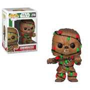 Figurine Pop! Chewbacca Guirlande de Noël - Star Wars Holiday
