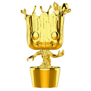Marvel MS 10 Groot Gold Chrome Pop! Vinyl Figure