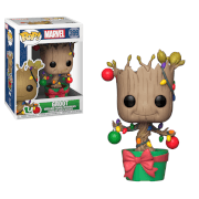 Figurine Pop! Groot Sapin de Noël - Marvel Holiday 2018