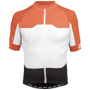 POC AVIP Ceramic Jersey - L - Orange/White