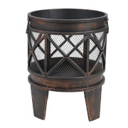 Tepro Gracewood Fire Basket - Bronze/Black