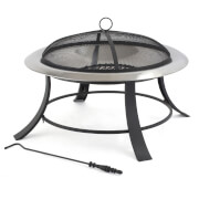 Tepro Stainless Steel Silver City Fire Basket
