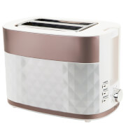 Prestige Prism Diamond Toaster - Rose Gold