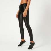 Koral Women's Lustrous High Rise Leggings - Black - L - Black