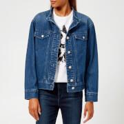 A.P.C. Women's Bailey Denim Jacket - Indigo Delave - FR 34/UK 6 - Blue
