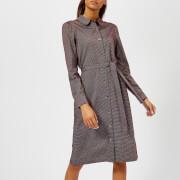 A.P.C. Women's Coco Shirt Dress - Brown - L - Brown