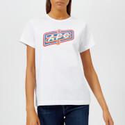 A.P.C. Women's Charlie T-Shirt - White - L - White