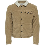 Only & Sons Men's Mode Corduroy Teddy Jacket - Kangaroo
