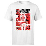 The Incredibles 2 Poster Men's T-Shirt - White