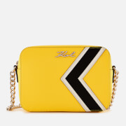 Karl Lagerfeld Women's K/Stripes Bag - Yellow