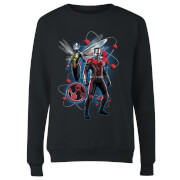 Ant-Man And The Wasp Particle Pose Women's Sweatshirt - Black