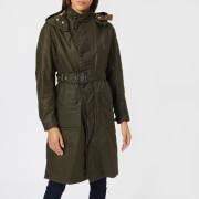 Barbour Heritage Women's Margaret Howell Ursula Wax Jacket - Olive - UK 10 - Green