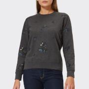 Barbour Heritage Women's Evelyn Embroidered Sweatshirt - Charcoal - UK 10 - Grey