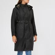 Barbour Heritage Women's Margaret Howell Ursula Wax Jacket - Black - UK 10 - Black