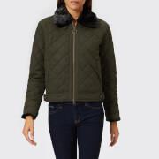 Barbour Heritage Women's Tetbury Quilt Jacket - Sage - UK 10 - Green