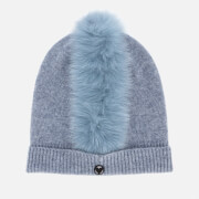 Charlotte Simone Women's Mo Mohawk Hat - Denim Blue