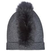 Charlotte Simone Women's Mo Mohawk Hat - Charcoal