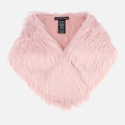 Charlotte Simone Women's Flossy Scarf - Soft Pink