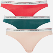 Multi Tommy Hilfiger Women's 3 Pack Bikini Panties