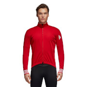 adidas Men's Adistar Cycling Jersey – Scarlet – XL – Red