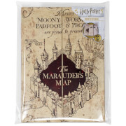Harry Potter – Cahier A5 – Carte du Maraudeur