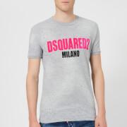 Dsquared2 Men's Destroyed T-Shirt - Grey Melange