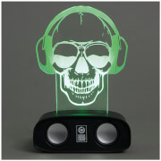 Image of Sound Reactive Speaker - Skull