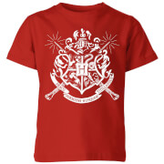 Harry Potter Hogwarts House Crest Kids' T-Shirt - Red
