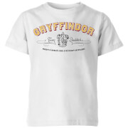 Harry Potter Gryffindor Team Quidditch Kinder T-Shirt - Weiß