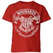 Harry Potter Hogwarts Crest Kids' T-Shirt - Red