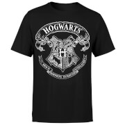 Harry Potter Hogwarts Crest Men's T-Shirt - Black