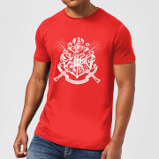 Harry Potter Hogwarts House Crest Men's T-Shirt - Red