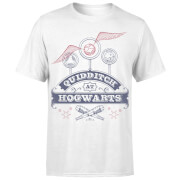 Harry Potter Quidditch At Hogwarts Men's T-Shirt - White
