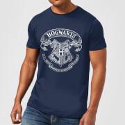 Harry Potter Hogwarts Crest Men's T-Shirt - Navy