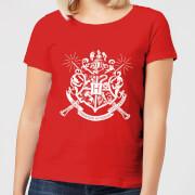 Harry Potter Hogwarts House Crest Women's T-Shirt - Red