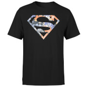 DC Originals Floral Superman Men's T-Shirt - Black