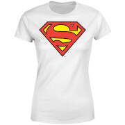 DC Originals Official Superman Shield Women's T-Shirt - White